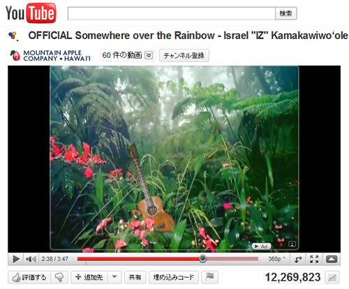 "Izの""Somewhere over the Rainbow"""