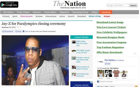 Jay-Zがパラリンピック閉幕式でColdplay、リアーナと共演